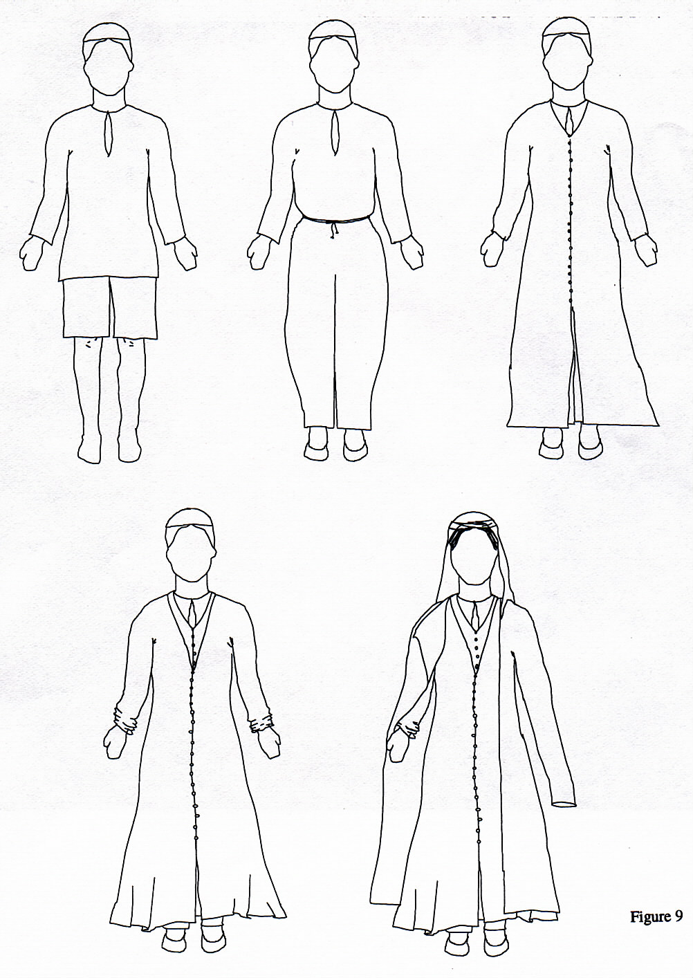 16th century persian women s clothing Clothes From 1970 showing